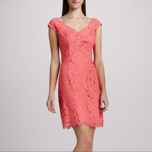 Lilly Pulitzer Coral Rosaline Lace Dress 4